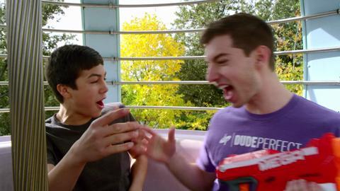 NERF Perfect Shots - MEGA Accuracy Edition: Ferris Wheel Sneak Attack