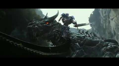 Transformers Big Game Spot