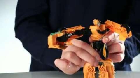 Transformers Movie Power Battlers Demo