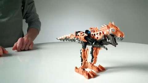 Transformers Movie Construct-Bots Demo
