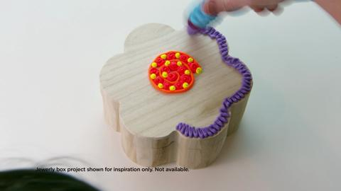 Decorating a Jewelry Box