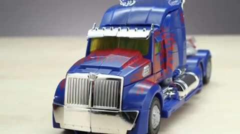Designer Desk Optimus Prime Toy