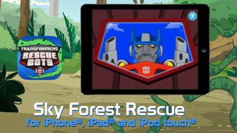 Transformers Rescue Bots: Sky Forest Rescue Storybook App