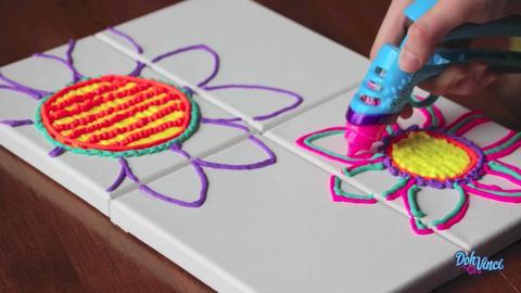 3D Design Canvas Art