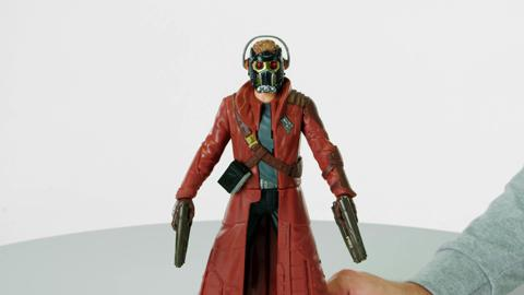 Marvel Guardians of the Galaxy Battle FX Star-Lord Figure Demo