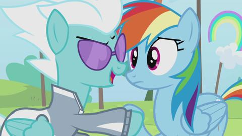 MLP Rainbow Reflection: Rainbow Dash