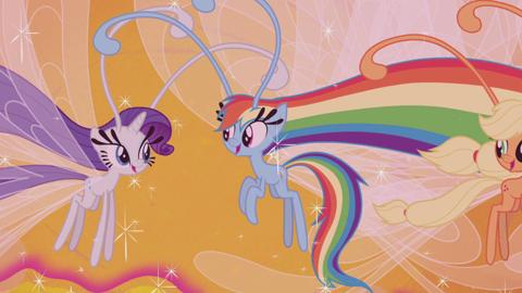 MLP Rainbow Reflection: Fluttershy