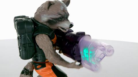Guardians of the Galaxy Big Blastin' Rocket Raccoon Demo