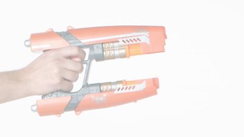 Marvel Guardians of the Galaxy Star-Lord Quad Blaster Demo