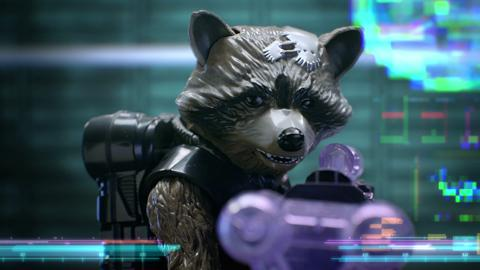 Guardians of the Galaxy Big Blastin' Rocket Raccoon and Star Lord Quad-Blaster TV Commercial