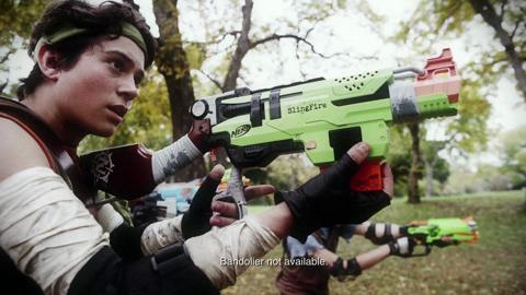 NERF Zombie Strike Slingfire Blaster TV Commercial