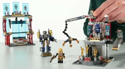 Galvatron Factory Battle