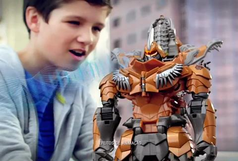 Comercial Transformers: Grimlock Stomp & Chomp