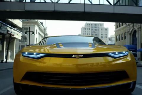 Comercial Transformers: Mega 1-Step Bumblebee