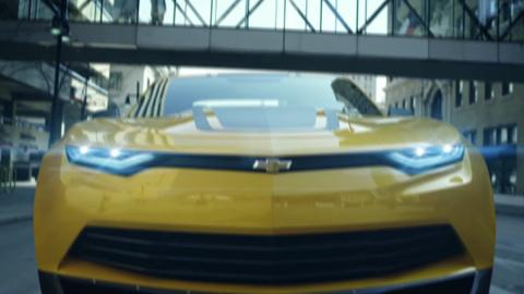 Transformers: Mega 1-Step Bumblebee Commercial