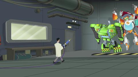 Transformers Rescue Bots - Meet Doctor Morocco