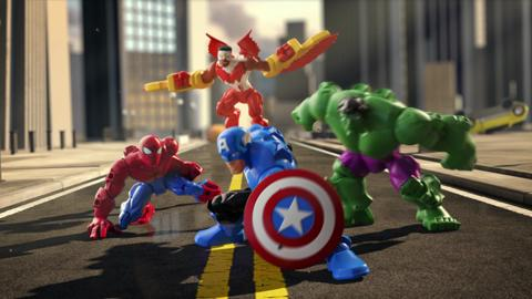 Marvel Super Hero Mashers TV Commercial