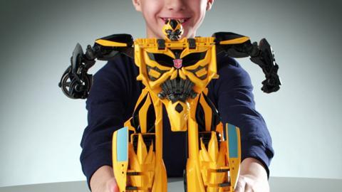 Transformers Mega 1-Step Bumblebee Product Demo