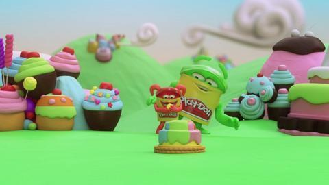 Cake Mountain - Play-Doh Animation