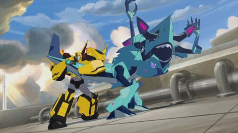 Transfomers Robots in Disguise: Meet Bumblebee