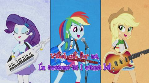 MLPEG I Rainbow Rocks I Sing-A-Long