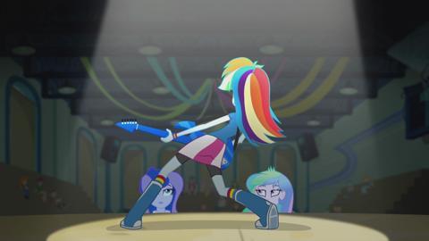 MLPEG I Rainbow Rocks I Music Video _Awesome As I Wanna Be_