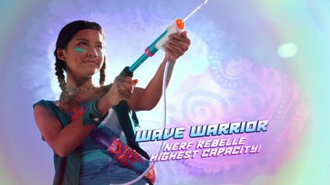 NERF REBELLE SUPER SOAKER TRI-THREAT AND WAVE WARRIOR
