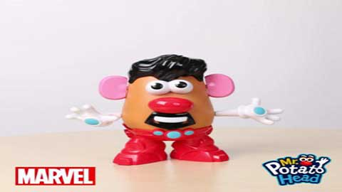 Mr Potato Head - Marvel Tony Stark Iron Man Time Lapse