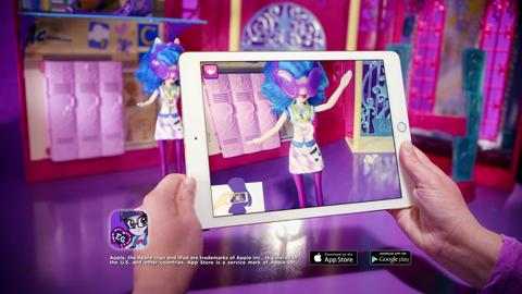 MLP Equestria Girls I Friendship Games I TV Commercial Canterlot High Playset