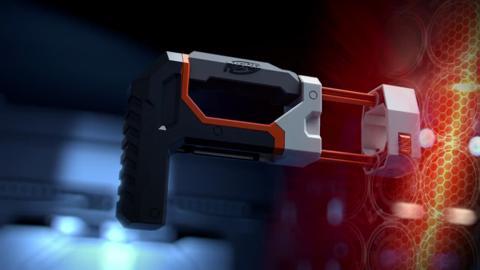 NERF N-STRIKE MODULUS ECS-10 BLASTER TV COMMERCIAL