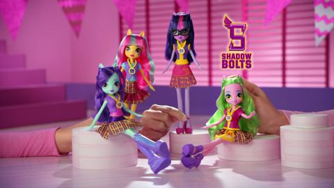 MLP Equestria Girls I Friendship Games I TV Commercial Classic Dolls