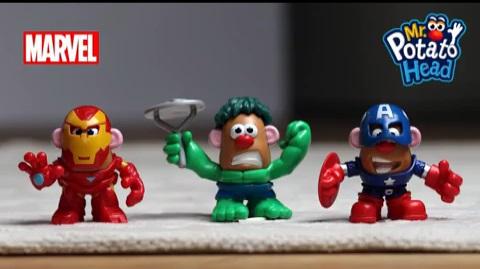 Mr Potato Head - Mixable Mashable Heroes Time Lapse