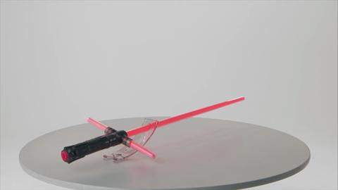 Star Wars Episode VII - Kylo Ren Force FX Lightsaber Product Demo