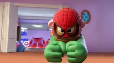 Mr. Potato Head Mixable Mashable Heroes TV Commercial