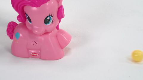 My Little Pony Playskool Friends Pinkie Pie Party Popper Demo