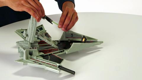 Star Wars Episode VII - Micro Machines First Order Star Destroyer Playset Product Demo