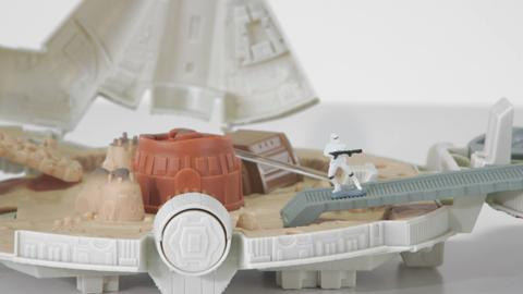 Star Wars Episode VII - Micro Machines Millennium Falcon Playset Product Demo