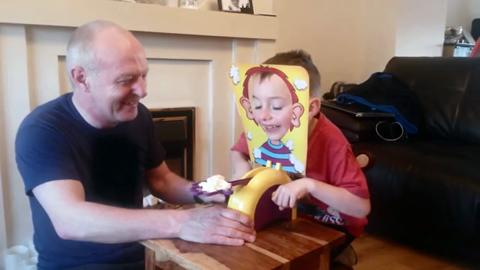 PIE FACE GAME - The Hilarious, Precarious Game of In-Your-Face Fun