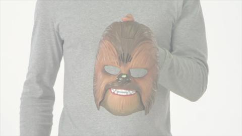 Star Wars Episode VII - Chewbacca Electronic Mask Product Demo