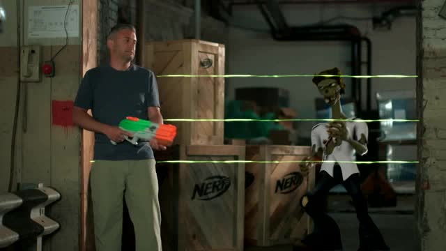BEHIND THE BLASTER | NERF ZOMBIE STRIKE SPLATTERBLAST