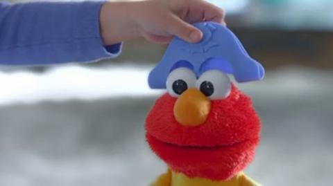 Sesame Street Let's Imagine Elmo TV Commercial
