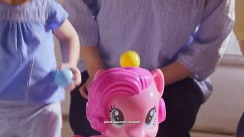Playskool Friends My Little Pony Pinkie Pie Party Popper TV Commercial