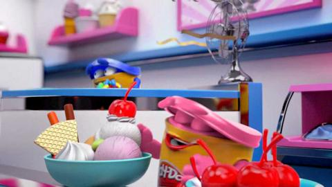 Swirl N Scoop - Play-Doh Animation
