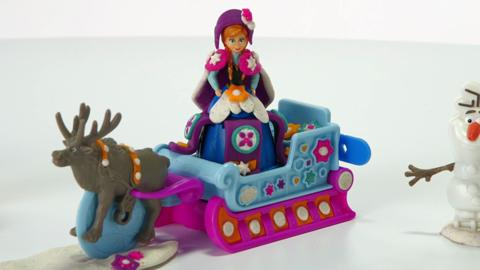 Play-Doh Sled Adventure Featuring Disney's Frozen Demo Video