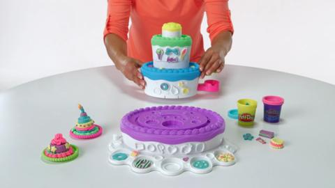 Play-Doh Demo Cake Mountain