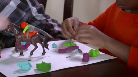 How to Make Stories with Play-Doh
