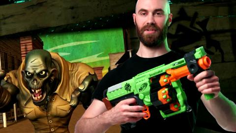 NERF N-Strike Modulus ECS-10 Blaster: Nerf: Amazon.co. Nerf ToysCommercial