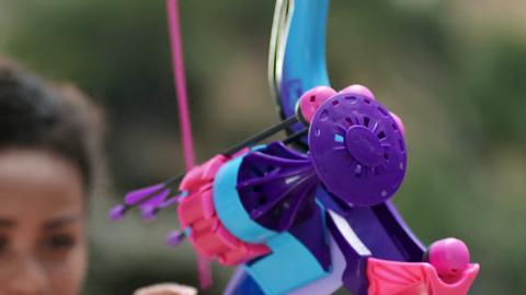 Nerf Rebelle - Arrow Revolution Bow TV Commercial