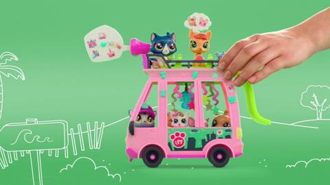 Littlest Pet Shop Shuttle TV Commercial