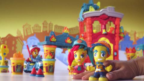 Play-Doh Town TV Commercial